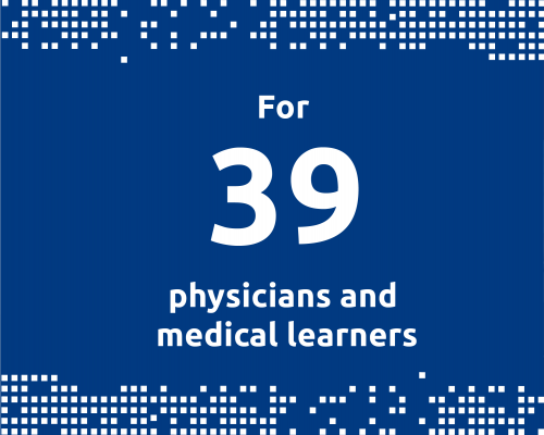 For 39 physicians and medical learners